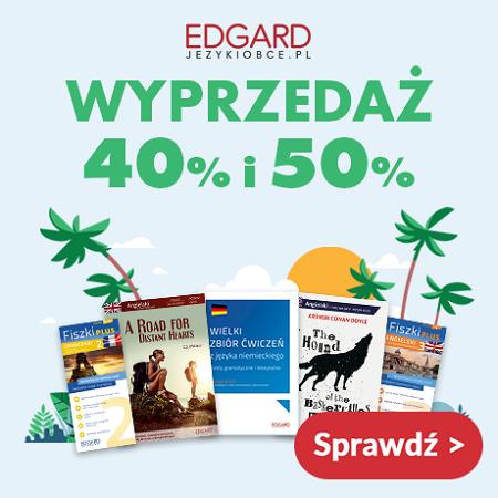 Letnia wyprzedaż - księgarnia językowa Edgard